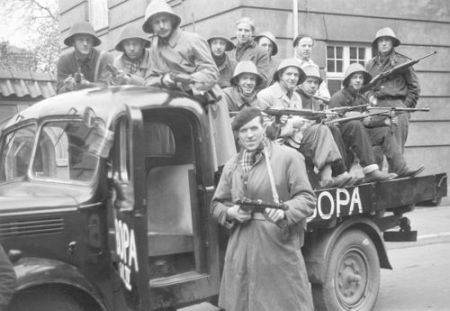 BOPA - the leading  communist partisan group after the surrender of the Germans