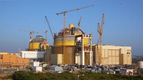 Kudankulam Nuclear Power Plant i Indien