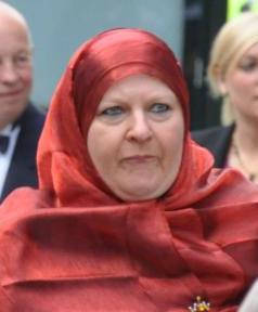 Helena Benaouda - leading member of muslim council in Sweden