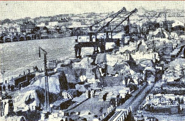 American built port at Nantes built by SOS - Supply of Service