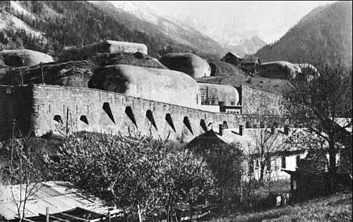 French fort in the Maginot line